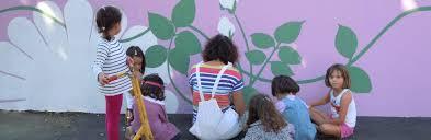 Réalisation d'un décor peint sur le thème de « la rose »
