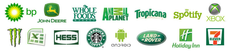 Logos verts